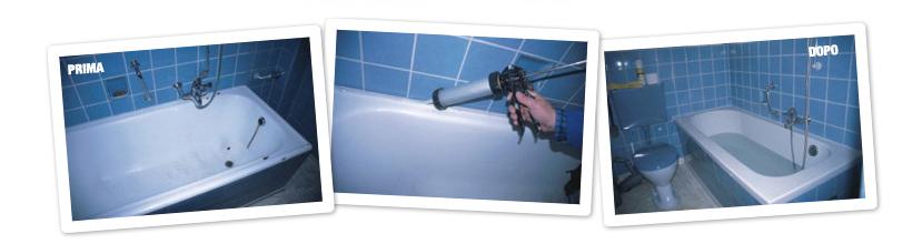 Vasca nella vasca sistema esclusivo remail - Sovrapposizione vasca da bagno ...